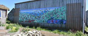 Bee Garden Mural