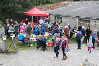 Open days such as our Harvest Celebration always include a farm tour with one of our growers