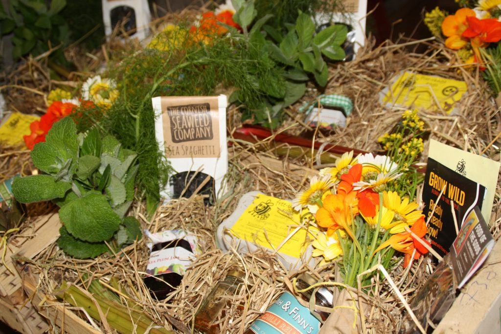 We can create a hamper of local produce for you