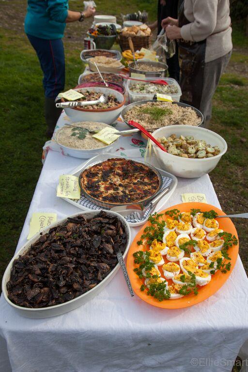 Lunch (Photo: Ellie Smart)
